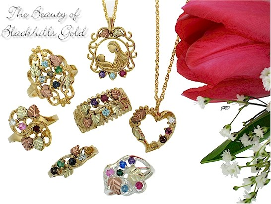 Black Hills Goldmothers Rings And Pendants Make A Mother S Day Extra Special