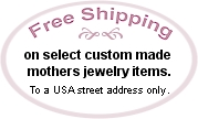 Mothers rings and family jewelry