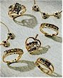 Family rings, mothers rings, jewelry for mothers